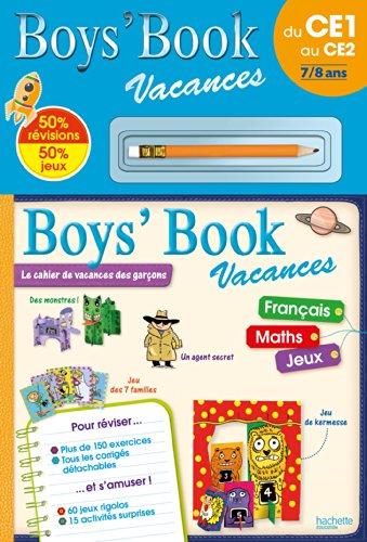 Boys' Book Vacances - Du CE1 au CE2