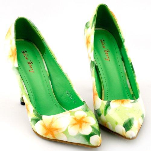 Show Story , Ballet femme Vert - vert