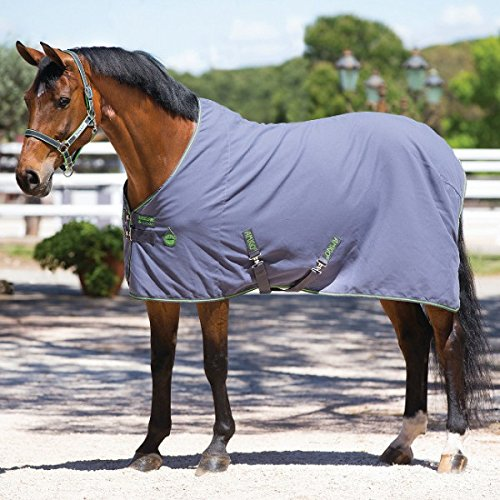 Horseware Amigo Stable Sheet 0g - Excal & Green, Groesse:125 -