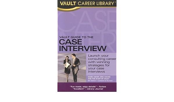 Vault Case Interview Practice Guide Pdf
