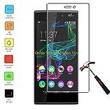Owbb Glas Display Schutzfolie f黵 Wiko Ridge 4G (5.0inch) Smartphone Screen Panzerglas Hartglas Schutzfolie Ultra Clear (Thickness 0.3mm,9H Hardness)