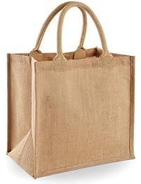 Westford Mill Jute-Tasche / Jute-Einkaufstasche, 14 Liter