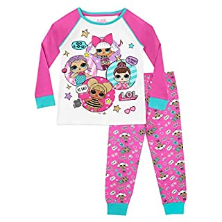 L.O.L Surprise! Girls Dolls Pyjamas Multicoloured Age 7 to 8 Years