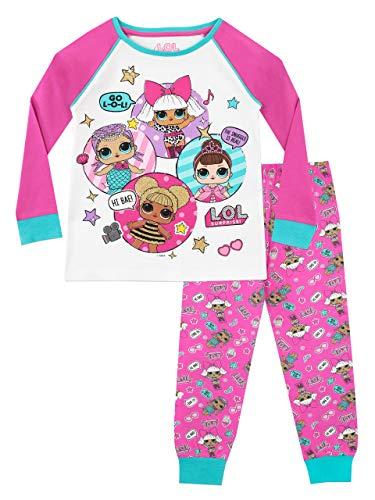 Lol surprise! pigiama a maniche lunghe per ragazze dolls 11-12 anni