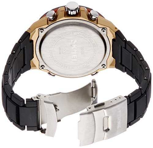 Skmei Analogue-Digital Black Dial Men's Watch - 1016