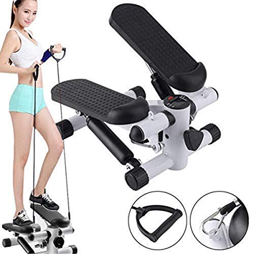 Aysis Mini Stepper,Mini Fitness Exercise Machine-Mini Elliptical Foot Pedal Stepper,...