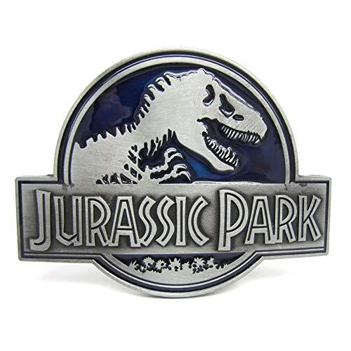 Preisvergleich Produktbild Choppershop Tyrannosaurus Rex Jurassic Park Gürtelschnalle aus Metall