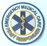 Emergenza assistenza medica di primo intervento con il ferro da stiro, 8 cm, con spilla, da dottore infermiere Cosplay-Costume per travestimento da infermiera