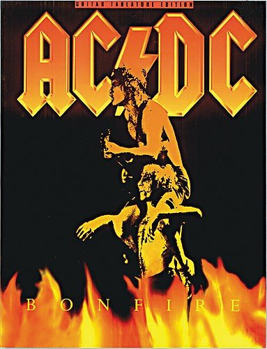MUSIC SALES AC/DC - BONFIRE - GUITAR TAB Noten Pop, Rock, .... Gitarre -