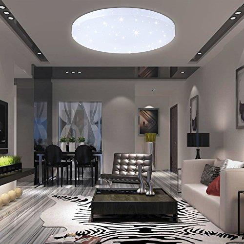 VINGO® Lámpara de techo Lámpara con efecto de destello Iluminación infantil de...