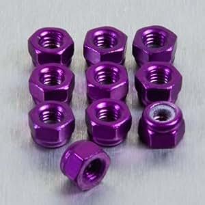 Ecrou Nylstop en Aluminium M3 Pack x 10 Violet