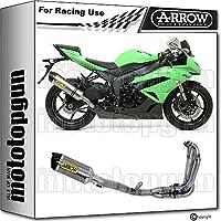 ARROW - Tubo de Escape Completo para competición Race-Tech C/Kawasaki ZX-