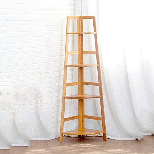 Rénové simple et simple en bois paroi à plusieurs étages Rangements de coin salon étagères de stockage de chambre ( taille : Five layers )