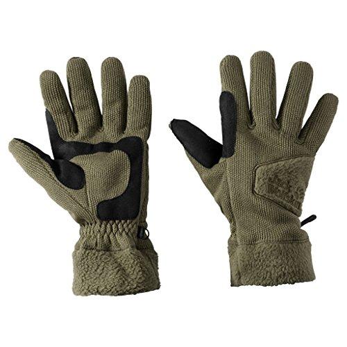 Preisvergleich Produktbild JACK WOLFSKIN Herren Handschuhe CASTLE ROCK GLOVE, burnt olive, M, 1906711-5033003