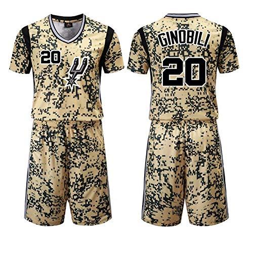 WO NICE NBA San Antonio Spurs # 20 Manu Ginóbili