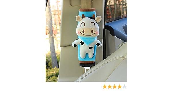unlockgift S/ü/ße Kuh Geschirr Baby Auto Sicherheitsgurt Pads Schulterpolster Universal Fit Auto Sicherheitsgurt Pads 2
