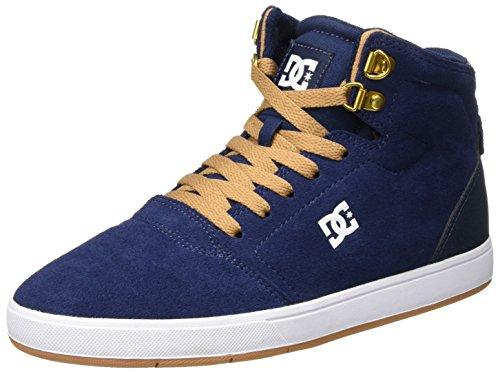 DC Shoes Herren Crisis High Sneaker, Blau (Navy/Camel), 42 EU (Dc High Skate Schuhe)