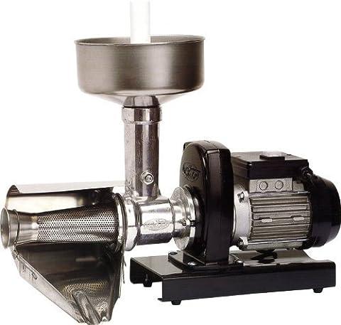 Palumbo SM3 IP54 elektrische Tomatenpresse, Edelstahl, Einphasenmotor, 0,51PS, 370W