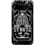 Grunge Cult Fun Tête de mort Art Hipster Musique téléphone Housse/Coque rigide pour Apple téléphone portable, plastique, Everything Expensive Am I Poor, Apple iPhone 5S / 5