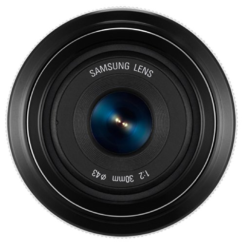Samsung EX-S30ANW Objektiv 30 mm F2 weiß
