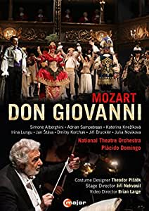 Mozart: Don Giovanni [Simone Alberghini; Irina Lungu; Julia Novikova; Dmitry Korchak; Jií Brückler; National Theatre Orchestra] [C Major Entertainment: 745208] [DVD]
