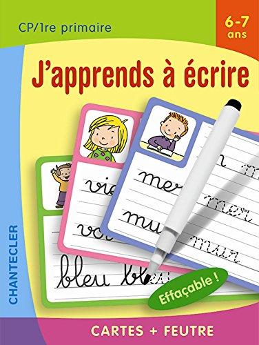 Cartes + feutre - J'apprends à écrire (6-7 a.) par ZNU