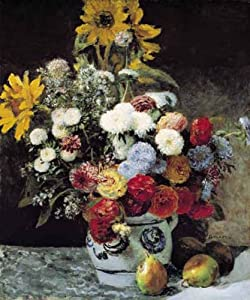 International Publishing 0901N16025b-Fleurs Dans un jarrón, clásica Puzzle