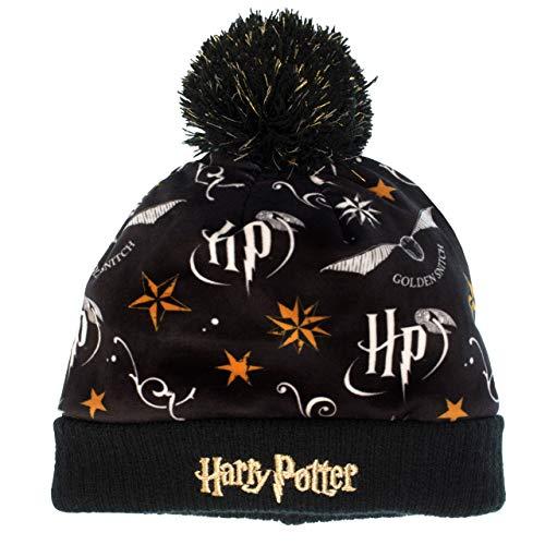 51KFCtevTCL - Harry Potter - Conjunto de gorro y guantes para niña - Un tamaño