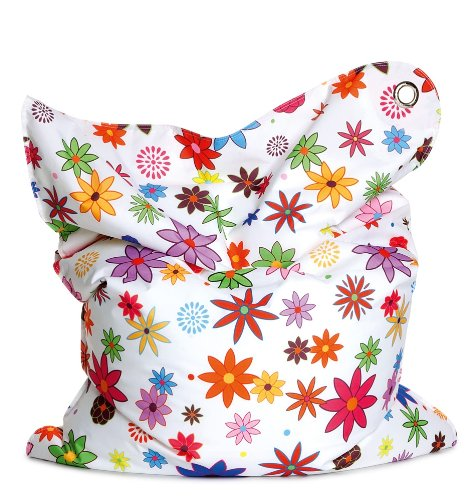 Sitting Bull 634004 Sitzsack Fashion Mini Bull / 130 x 90 cm / Flower Girl