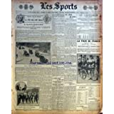 SPORTS (LES) [No 586] du 09/07/1906 - LE TOUR DE FRANCE - RENE POTTIER GAGNE LA 3EME ETAPE - LE CRITERIUM - LA PELOTE BASQUE A SAINT-JAMES