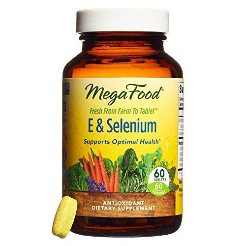 MegaFood - E & Selenium, Provides Potent Antioxidant Protection for Life,...