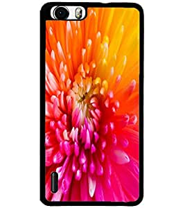 ColourCraft Beautiful Flower Design Back Case Cover for HUAWEI HONOR 6