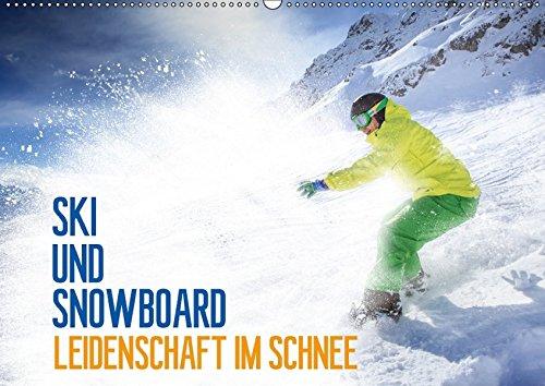 Ski und Snowboard - Leidenschaft im Schnee (Wandkalender 2018 DIN A2 quer): Ein ganzes Jahr lang das Hochgefühl des Wintersports (Geburtstagskalender, ... [Kalender] [Apr 07, 2017] Thoermer, Val