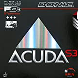 Tischtennis Belag Donic Acuda S3, 2.00 mm, schwarz