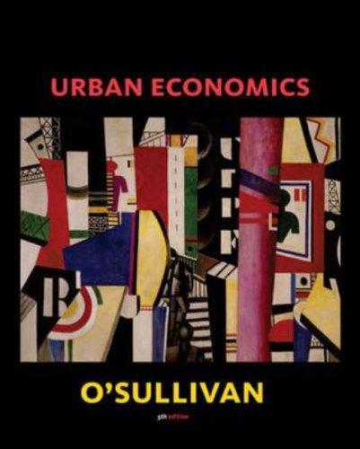 Urban Economics Osullivan Pdf