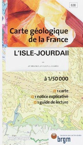 Carte géologique : L'Isle Jourdain par Cartes BRGM