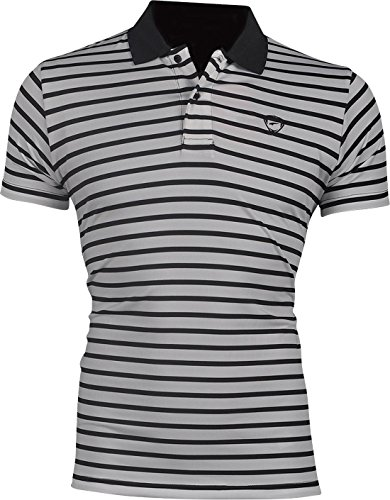 jeansian Herren Summer Sportswear Wicking Breathable Short Sleeve Quick Dry Polo T-Shirts Wicking Breathable Running Training Sports Tee Tops LSL195 LSL165_42