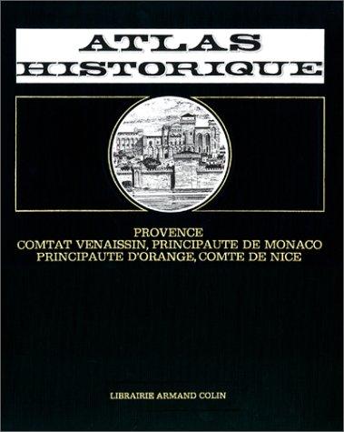 Provence, Comtat Venaissin, Principauté de Monaco, Principauté d'Orange, Comté de Nice (Livre et fiches)