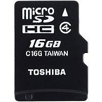 Toshiba High Speed M102 Carte mémoire microSDHC 16 Go (Classe 4)
