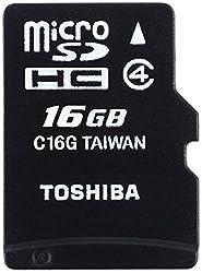 Toshiba High Speed M102 16GB Micro SD Memory Card Class 4 - THN-M102K0160M2