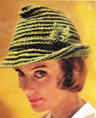 t Hat Cap Tam Pattern (English Edition) (Kid Fedora)