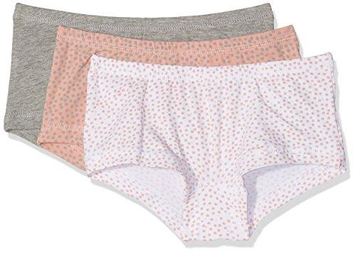 NAME IT Mädchen NKFTIGHTS 3P Rose TAN NOOS Unterhose, Rosa, 152 (3erPack)