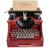 starter Caja de música - Antigua máquina de Escribir Caja de música Familia/Oficina/