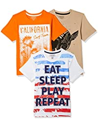 Sunday Sale : Flat 50% And More OFF On Cherokee Boys' Plain Combo T-Shirt (Pack of 3) low price image 7