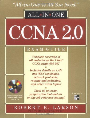 CCNA 2.0 All-in-one Exam Guide (Exam 640-507) por Steven B. Thomas