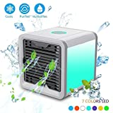 luoluoluo 3en1 USB Mini Climatiseur Portable Air Conditioner Humidificateur Purificateur