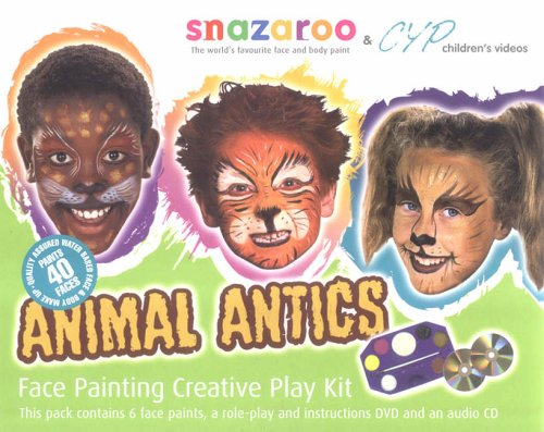 Animal Antics: Face Painting Creative Play (Kit Facepainting)