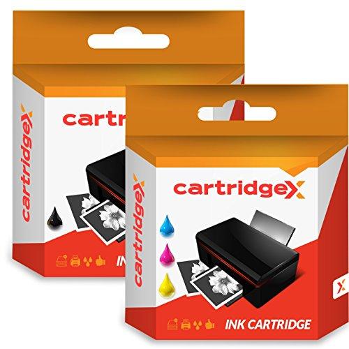 Lot de 2Cartridgex cartouche d'encre Compatible Multipack d'occasion  Livré partout en Belgique