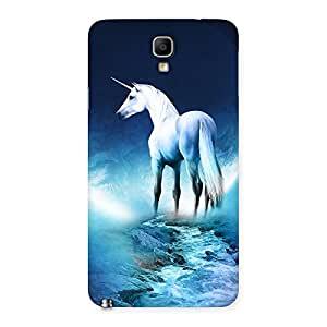 Enticing Unicorn Horse Print Back Case Cover for Galaxy Note 3 Neo