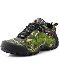 Showlovein - Zapatillas de pesca de Material Sintético para hombre, color gris, talla 42